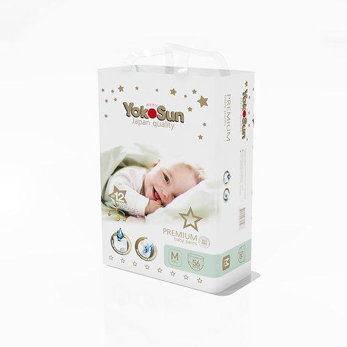 YokoSun Premium, размер M, Трусики-подгузники