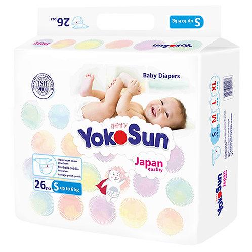 Подгузники Yokosun, размер S