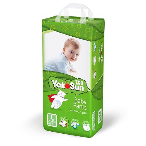 YokoSun Eco, трусики,  размер L (9-14 кг)