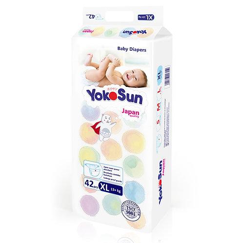 Подгузники YokoSun, размер XL