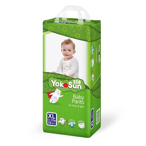 YokoSun Eco, трусики,  размер XL (12-20 кг) 48 шт.