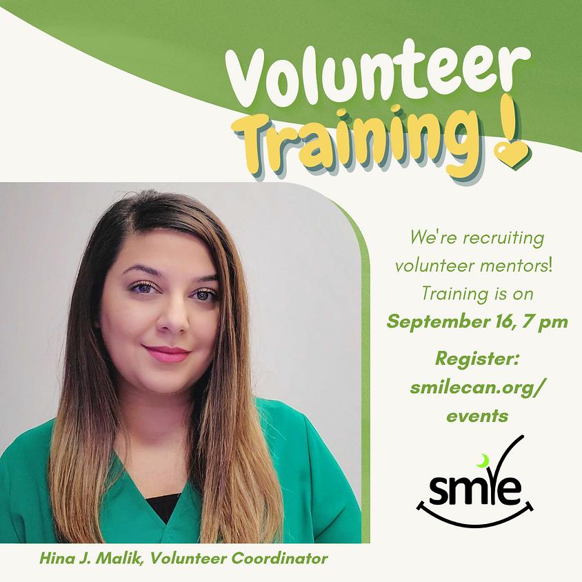 Mentorship Program - Volunteer Training