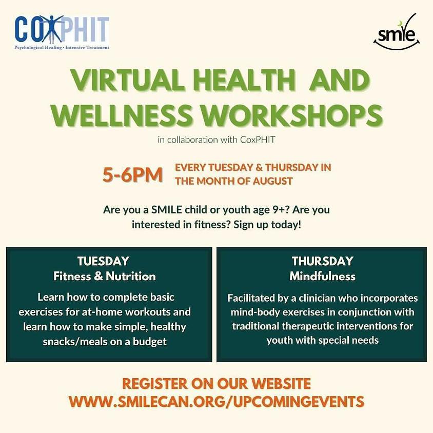 Virtual Health and Wellness Program x CoxPHIT