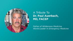 Remembering Our Advisor: The Legendary Dr. Paul Auerbach
