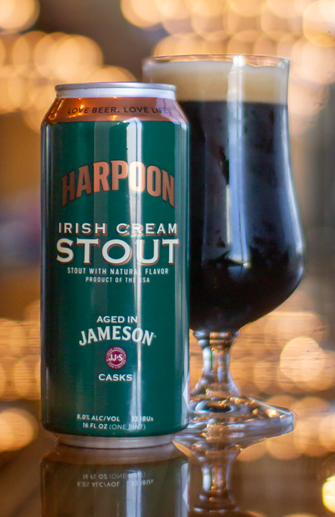 Harpoon Irish Cream Stout Aged In Jameso