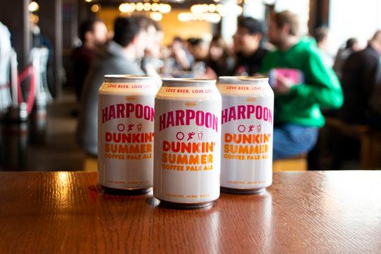 Dunkin' Summer Coffee Pale Ale Harpoon B