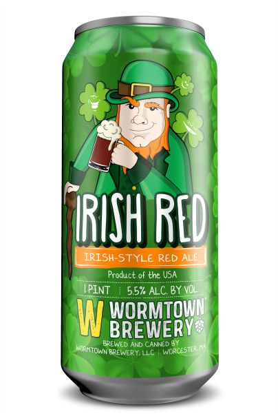 Irish Red- Wormtown Brewery