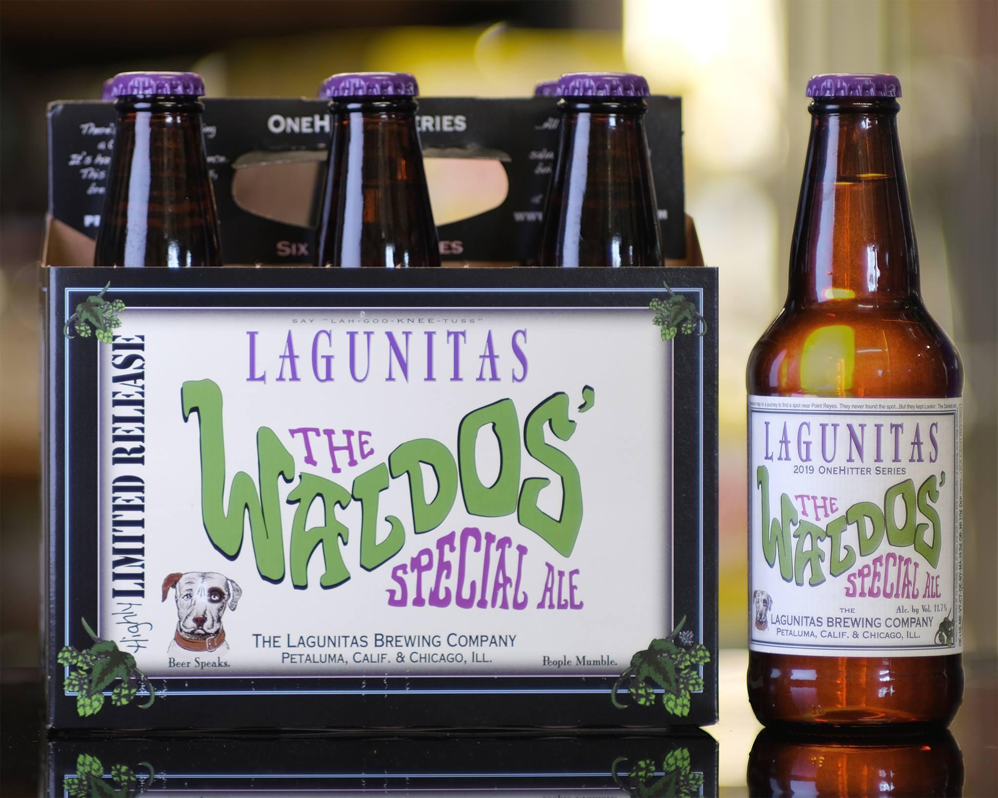 The Waldos' Special Ale Lagunitas Brewin