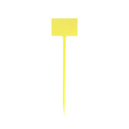 """NAME """"T"""" XL - Etiquetas de plástico amarillas"""
