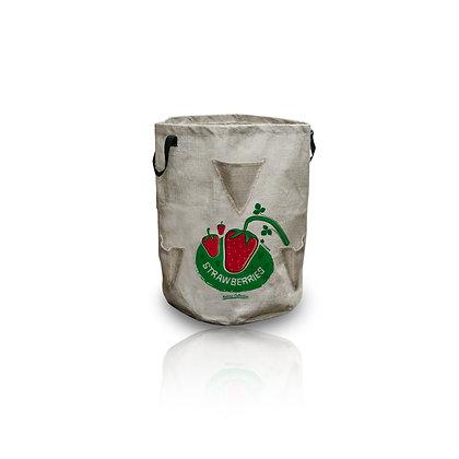 BERRY POCKETS - Jardinera de yute para fresas
