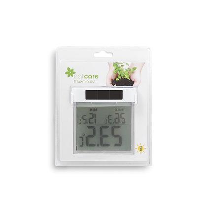 MAXMIN OUT - Termómetro digital de ventana máximas y mínimas solar