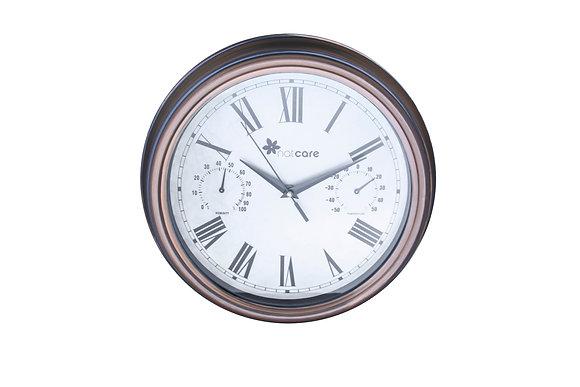 CLOMET - Reloj con termómetro e hidrómetro