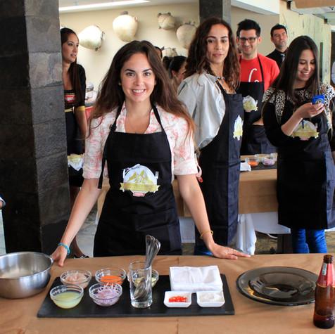 Cooking in Lima, Peru