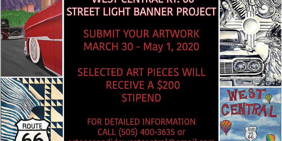 Arte Escondido - The West Central Street Light Banner Project