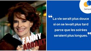 Citation Fany Ardant