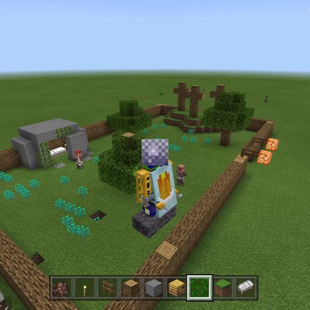 Minecraft Easter Garden.mp4