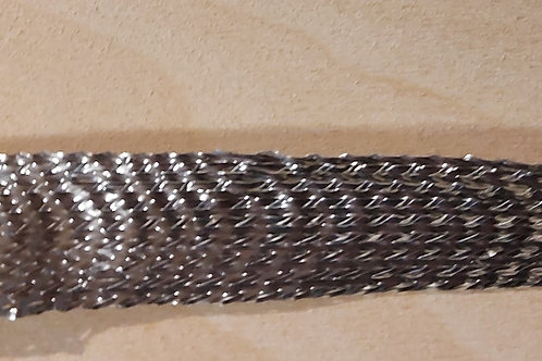 Zilver lint (18mm breed)