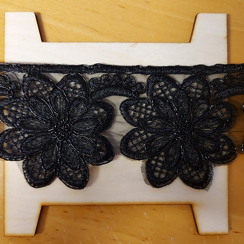 Zwart lint (70mm breed)