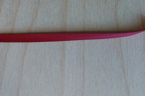 Rood-bordeau lint (7mm breed)