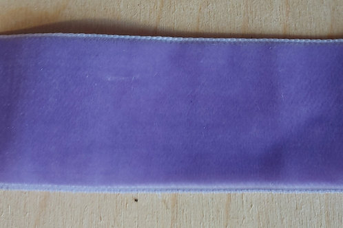 Paars velours lint (36 mm breed)