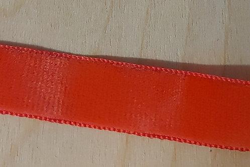Koraalrood lint (16mm breed)