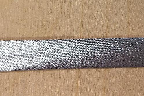 Zilver lint zonder rek (15mm breed)