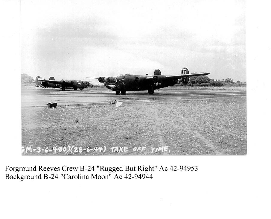B-24 Rugged But Right & Carolina Moon