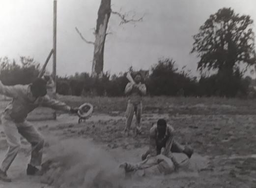 Engineers Playing Baseball
