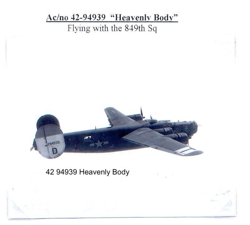 B-24 Heavely Body
