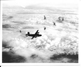 B-24s in flight