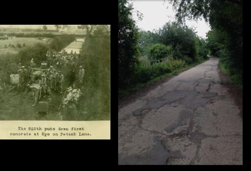 Potash Lane Then and Now