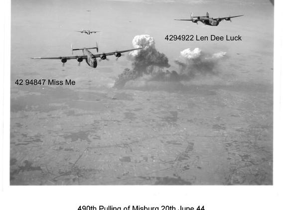 B-24 Miss Me & Len Dee Luck