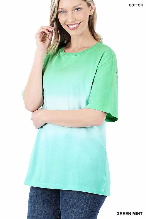 Green Mint Ombré Shirt