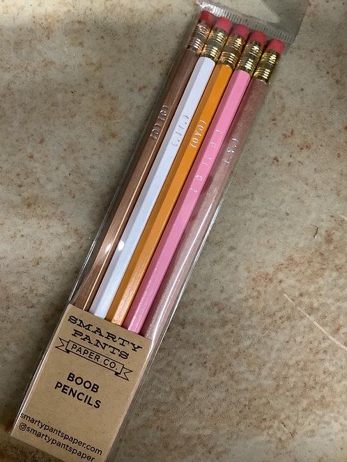 Boob Pencils
