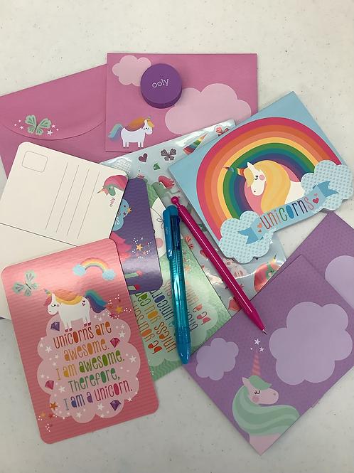 Unicorn Stationery Kit
