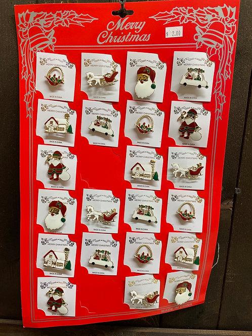 Enamel Christmas Pins