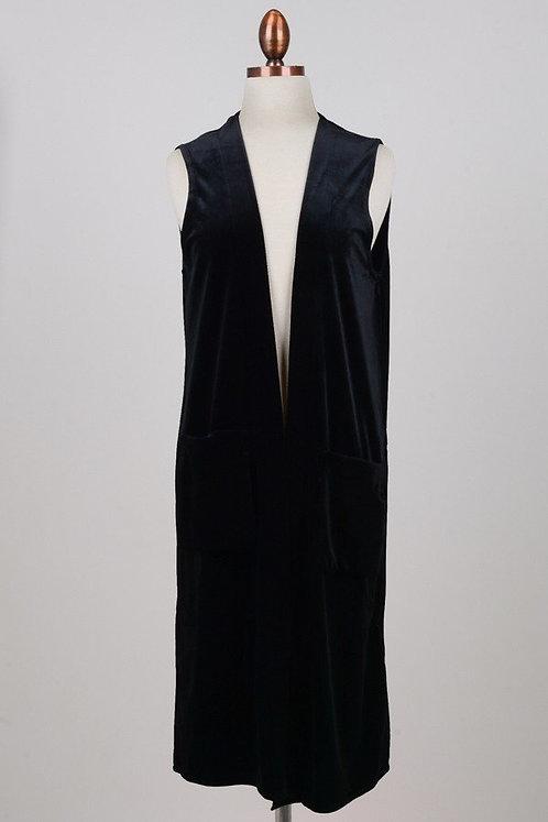 Velvet Split Back Vest (Pre-Order)