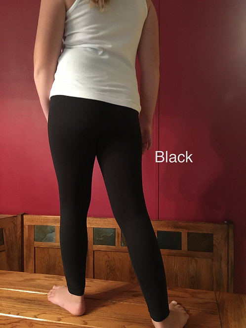 Girls Basic Leggings