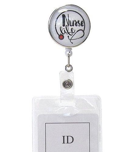 Nurse ID Badge Holder