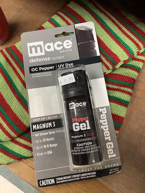 Mace Brand Pepper Gel - Magnum 3