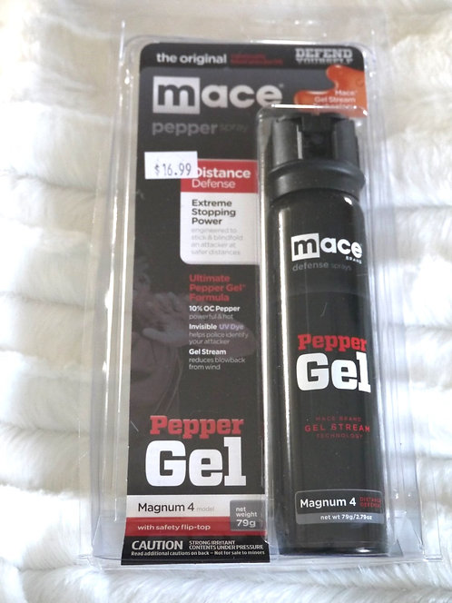 Mace Brand Pepper Gel - Extreme Stopping Power