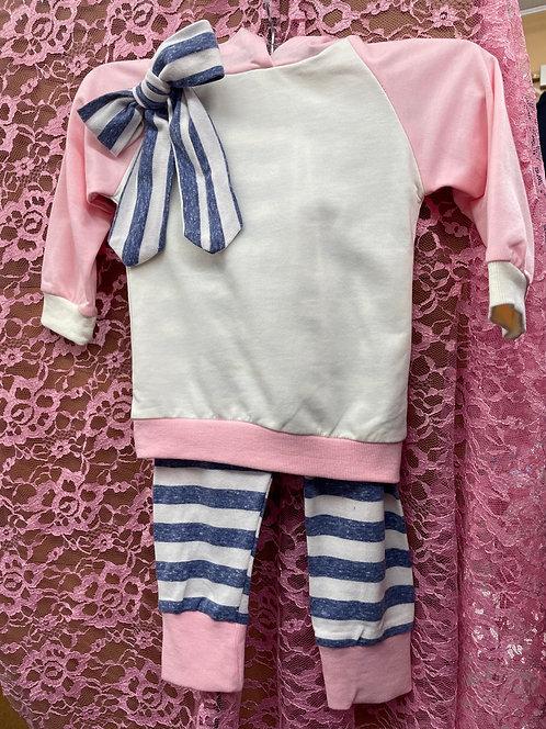 Baby Girl Lightweight Sweatsuit