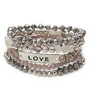 Love Bead Bracelette