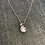 Thumbnail: Sterling Silver Wave Neckace