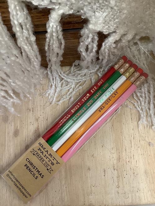Christmas Story Pencils