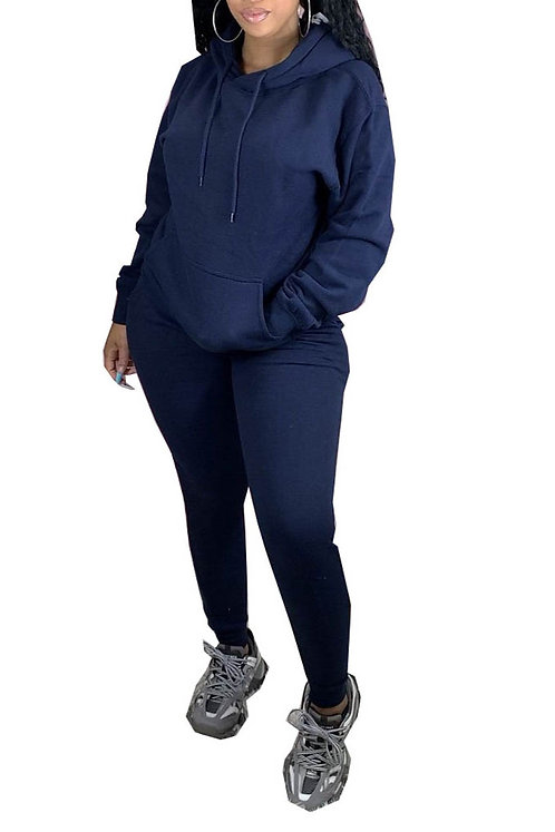 Navy Sweatsuit