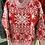 Thumbnail: Fuzzy Snowflake Sweater