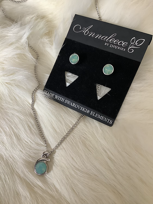 Waters Edge Necklace & Earring Set