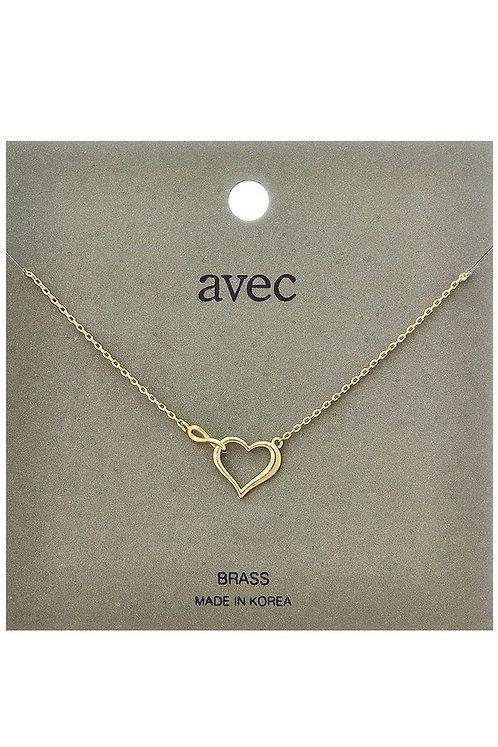 Minimalist Heart Necklace