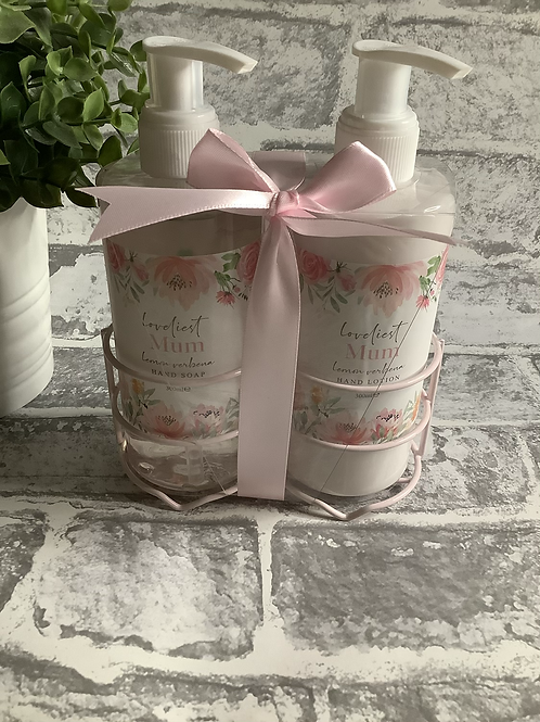 Hand soap & Hand lotion